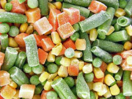 Are frozen vegetables as healthy as fresh ones?