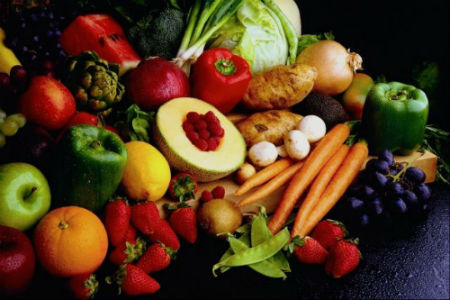 Overpriced organic food