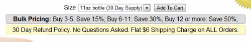 Bulk Pricing, Flat Rate Shipping, Return Policies