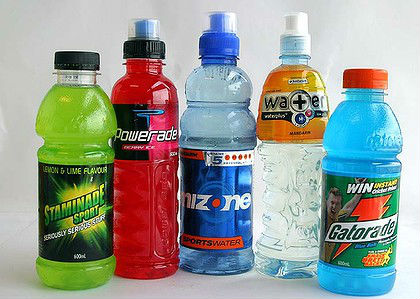 Different sports drinks