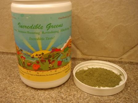 incredible greens green superfood powder