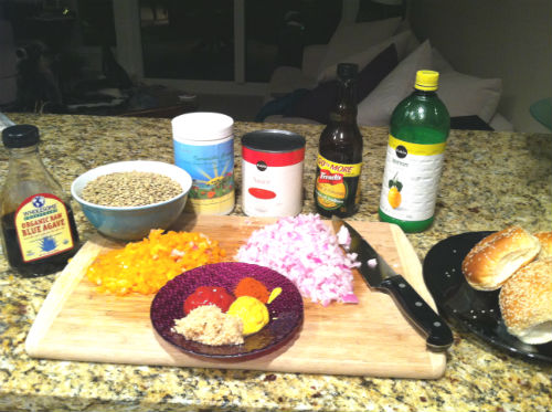vegan sloppy joe ingredients