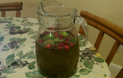 green chia fresca