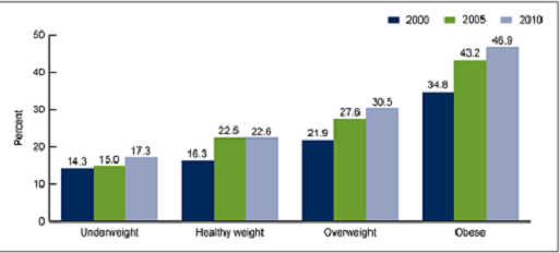 obesity rates usa
