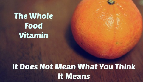 whole food vitamin