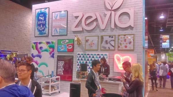 zevia natural products expo west